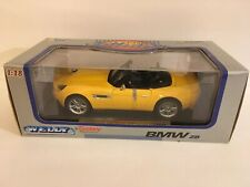 Welly Model Car BMW Z8 Roadster Convertible CabrioYellow w/Black 1/18 MINT