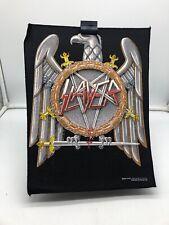 More details for vintage 80s 90s original rock metal back patch  slayer