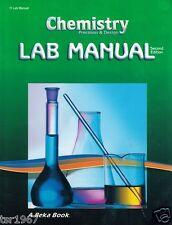 A Beka Chemistry: Precision and Design Student Laboratory Manual - 11th Grade