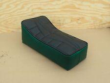 """14"""" x 7"""" GREEN/BLACK MINIBIKE SEAT SCOOTER CHOPPER MINI BIKE JC PENNYS KEYSTONE"""