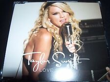 Taylor Swift Love Story Rare Australian 2 Track CD Single - Like New