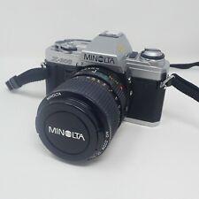 Minolta X-300 35mm SLR in Silver with Minolta MD Zoom 35-70mm F3.5