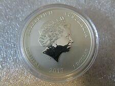 2017 1oz .999 Perth Mint Dragon and Phoenix ERROR COIN - encapsulated