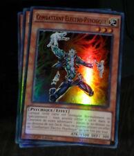 Yu-Gi-Oh SUPER RARE HOLO CARD CARTE WSUP-FR041 COMBATTANT ELECTRO FR X3 PAR 3