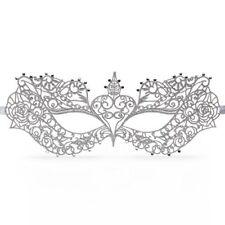 Maschera Veneziano Anastasia Masquerade Mask Fifty Shades of Grey Argentato