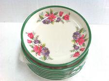 Melamine Floral Dinnerware Plates