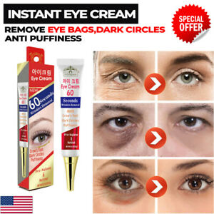 INSTANT EYE CREAM 60 SECONDS Remove Dark Circle Eyebag Firming Anti Puffiness UK