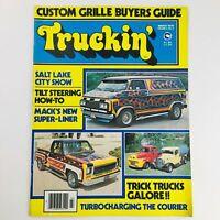 Truckin' Magazine March 1978 Vol 4 #3 Trick Truck Galore & Turbocharging Courier