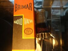 BRIMAR 6N7GT BRITISH NOS NEW OLD STOCK NEW IN BOX TESTED NOS VINTAGE VALVE TUBE