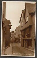 Postcard Fowey nr St Austell Cornwall early view Noah's Ark shop signs RP Judges