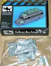 Opel 3.6-47 Omnibus Stabwagen accessories (für Roden) von Blackdog in 1/72