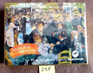Ancien jeu de cartes ;Coffret 2 jeux de 54 cartes Auguste RENOIR