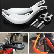 Universal 28mm Handlebar Handguard Hand Guard Motorcycle Pit Dirt Bike ATV White