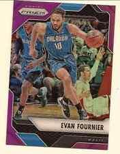 EVAN FOURNIER 2016-17 PANINI PRIZM NBA PURPLE PRIZM REFRACTOR /75