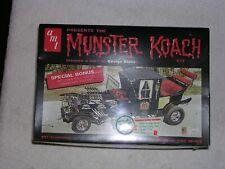 Vintage AMT Munster Coach Model kit Mint sealed Nice hard to find kit