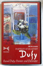 VHS video Raul Dufy: Painter & Decorator (Portrait of an Artist) Andrew Snell