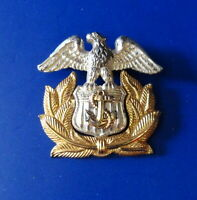 US MARITIME SERVICE OFFICER'S OVERSEAS CAP BADGE