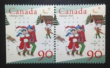 Canada #1629as MNH, Unicef and Christmas Booklet Pair of Stamps 1996