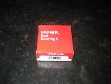 FAFNIR- 200KDD ball bearings 10 mm id 30 mm od 9mm w dbl shield, lot of 10