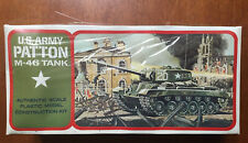 Patton M-46 Tank - Lindberg 3/16 scale unassembled AFV kit#6080:100 - sealed/NIB