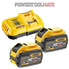 Dewalt DCB547 18V/54V 9.0Ah FLEXVOLT Battery Twin Pack & DCB118 Charger Bundle