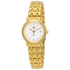 Longines Presence Automatic White Dial Ladies Watch L43212128