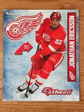 "FATHEAD 2014 Jonathan Ericsson 9"" Detroit Red Wings Poster Sticker SGA NEW"