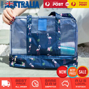 Swimming Yoga Gym Bag Waterproof Wet And Dry Separation Beach Travel Large Bag
