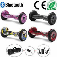 Hoverboard 10 Zoll Off-road Elektro Scooter Bluetooth E-skateboard ElektroRoller