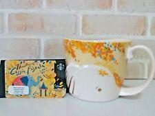 Starbucks Mug Cassia Fistula Elephant Coffee Cup 12 oz with Card Cassia 2019
