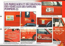 Marquages Décorations Véhicules Voiture Camions France FICHE Pompier FIREFIGHTER