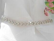 """QVC-Diamonique 5.85 cttw Sterling Silver Tennis Bracelet 7 3/4"""""""