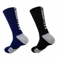 US Men Compression Long Sport Socks Soccer Football Basketball Tube Elite Socks