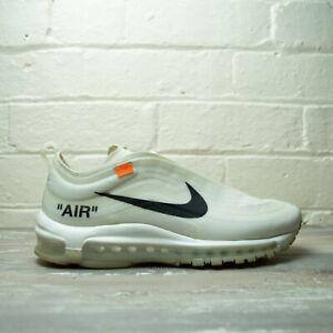 Nike Air Max 97 Off White The 10 AJ4585 100 UK 6.5 EU 40.5 US 7.5
