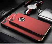For New iPhone 8 7  Plus Shockproof Full Protective Hard Back Case Cover