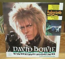 "DAVID BOWIE UNDERGROUND 12"" MAXI SINGLE 45 RPM LABYRINTH SYNTH POP S 75143"