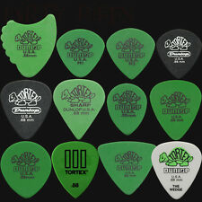 24 X Dunlop Tortex 0,88 mm Guitar Picks Variedad-Aletas, triángulo, Wedge Etc..
