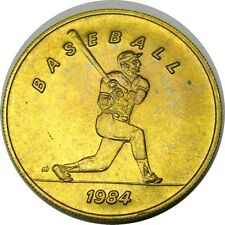 elf 1984 Olympics Bus Token  Baseball