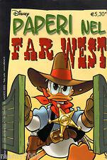 PAPERI NEL FAR WEST=PIU' DISNEY N°35=AGOSTO 2005
