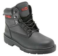 Blackrock Ultimate Leather Safety Boots Steel Toe Cap & Midsole Mens UK 4 - 13