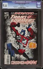 Transformers Generation 2 # 12 CGC 9.6 White Rare final issue
