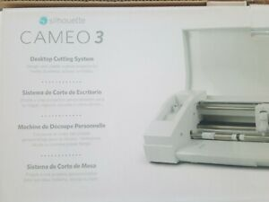 """Silhouette Cameo 3-4T with Bluetooth 12"""" Cutting Mat  White Edition (NEW)"""