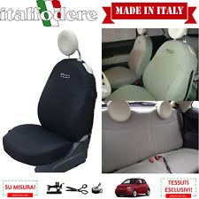 FODERE 500 SU MISURA! COPRISEDILI 500 Fiat Foderine 500 COMPLETE Nero 316