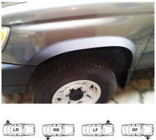 98-06 MITSUBISHI PAJERO PININ new Wing Wheel Arch Trim set 4 pcs BLACK MATT SaLe