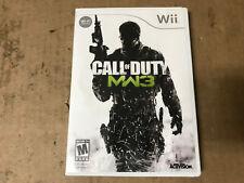 Call of Duty Modern Warfare 3 for Nintendo Wii System