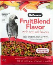 LM ZuPreem FruitBlend Flavor Bird Food for Large Birds Large (2 lbs)