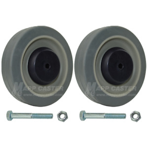 Magline Sr / Jr Replacement TPR Wheels set of 2 for Convertible Dolly 131030-W-K