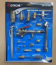 18pc Air Pneumatic Accessory Kit Air Blow Gun Coupler Chuck