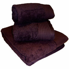 600 GSM Egyptian Cotton Towels Available in 16 Colours and 4 Sizes Bath Sheet Aubergine