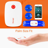 APP Control Wireless Tens Massager Machine Muscle Stimulator Therapy Pain Relief